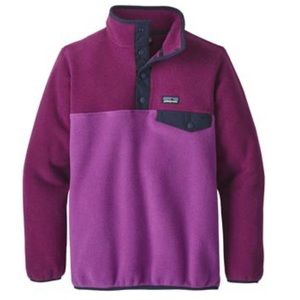 Patagonia Girls Pullover Synchilla Snap-T Fleece